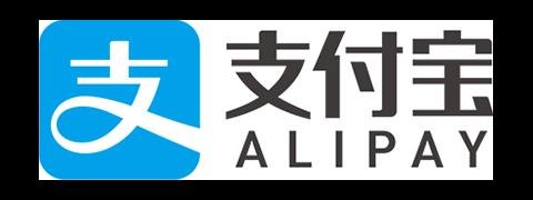 Alipayが使えます。