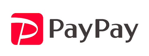Paypayが使えます。